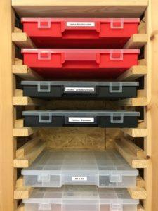 IKEA IVAR Regal Hack - Sortimentskasten