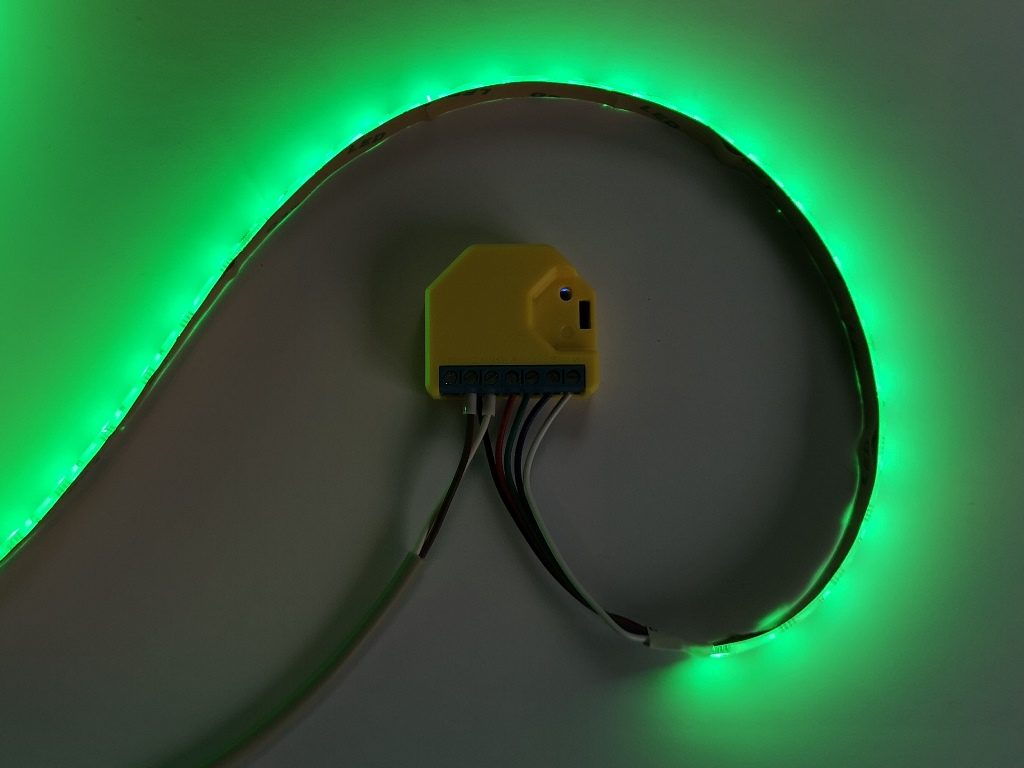Shelly RGBW2 LED Dimmer - Test