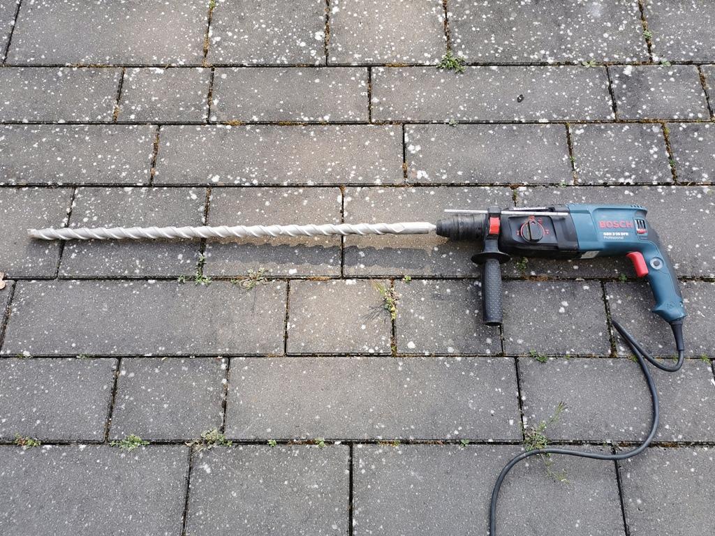 DoorBird D2101V Installation - Bohrer