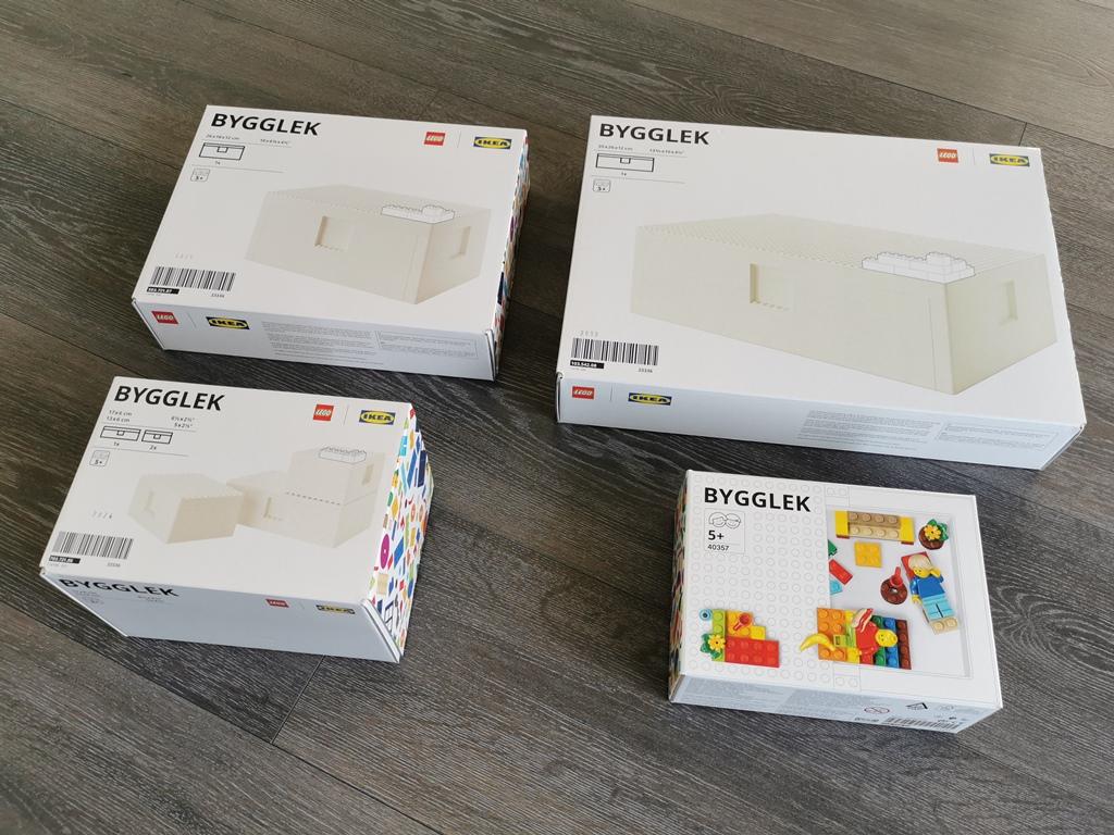 IKEA BYGGLEK - LEGO Sortiment