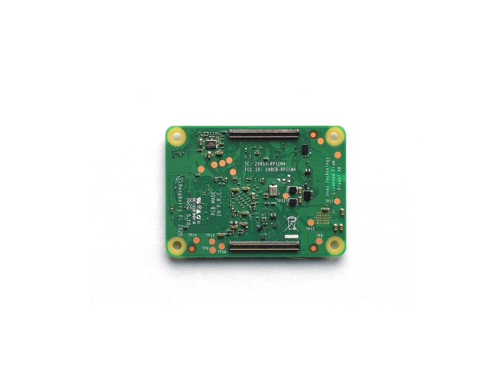 Raspberry Pi Compute Module 4 Rückseite