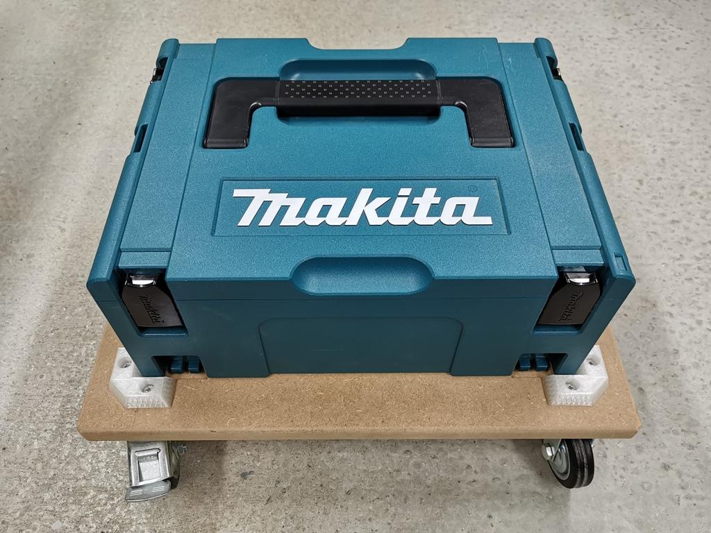 Transportwagen für Systemkoffer - Makita MAKPAC